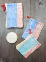 Seifensäckchen aus Upcycling Handtüchern