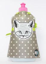 Spülmittel-Schürze Katzenkopf