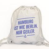 Rucksackbeutel wie Berlin