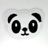 Patch Pandakopf 6x4,5cm