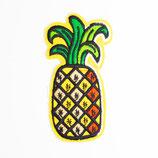 Patch Ananas bunt 4x8cm