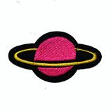 Patch Plaet pink / 4,5x8cm