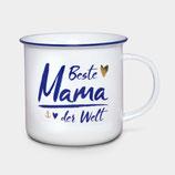"""Porzellan Kaffebecher """"Beste Mama """""""