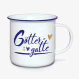 """Porzellan Kaffebecher """"Göttergatte """""""