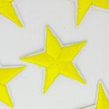 Patch kleiner Stern gelb