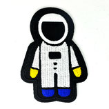 Patch  Astronaut mit Blau