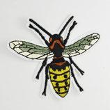 Patch Biene groß 7,5 x6,5 cm