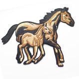 Patch Pferde groß 12,5x10cm