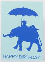 """Klappkarte """"Elefant"""""""