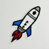 Patch Rakete klein 8x4cm