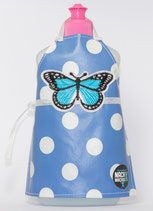 Spülmittel-Schürze mit Schmetterling