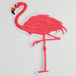 Patch Flamingo pink 9,5 x 7 cm