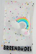 Breenbüdel mit Regenbogen mit Herz