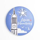 """Magnet """"Moin Hamburg"""" Sonne"""