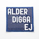 Patch Alder / 6,4x6cm / blau