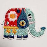 Patch Elefant 6 x 4 cm