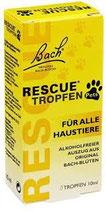 Bach Rescue Tropfen für Haustiere (ohne Alkohol) 10 ml