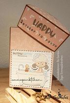 halbrunde Box