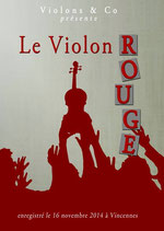 Spectacle Le Violons rouge