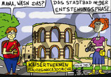 Postkarte Wasndas? Kaiserthermen