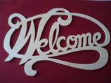 Fensterbild Welcome