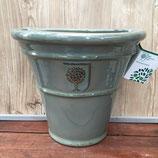 アピタウォールハンギング(釉薬塗り)グリーン