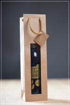 Geschenkesackerl für eine Flasche Teamore