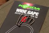 KORDA - Wide Gape Micro Barbed