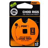 FOX - Edges Stiff Chod Rig Standard Micro Barbed