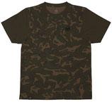FOX - Chunk Dark Khaki/Camo Edition T Shirt