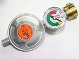 DB - Druckminderer 50mbar mit Füllstandsanzeige