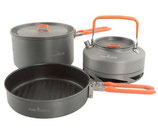 FOX - Cookware Medium 3pc Pan Set
