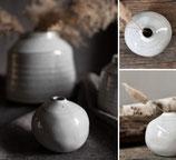 Designervase von Storefactory in grau meliert klein, Trendprodukt