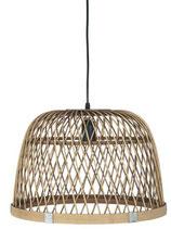 NEU Leuchte (ohne Leuchtmittel) Bambus Leitung schwarz