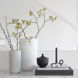 Designervase Lyngby, Porzellan weiss, Trendprodukt, verschiedene Grössen