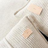 Dreamy beige, Strickkissen MOYHA, SG