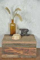 Holzkistli mit Deckel UNIKAT aus Altholz MS