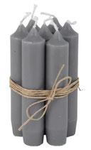 Kerzenbündeli dunkelgrau, 5 Stk. MR