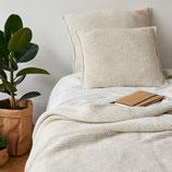 sleepy beige, Strickkissen MOYHA, 2 Grössen, SG