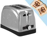 VW Toaster mit T1 Röstlogo
