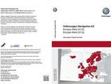 Navigations SD-Karte AZ Europa West, (V12)