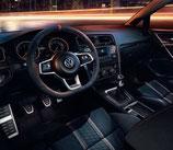 VW Golf 7 GTI Alcantara Paket für Schaltgetriebe