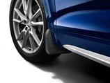 Schmutzfänger für vorn, für Fahrzeuge mit S line Exterieurpaket oder Ausstattungslinie advanced