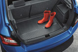 Kofferraummatte mit erhöhtem Rand FABIA III Combi