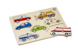 Steckpuzzle, 7-teilig, für Kinder ab 12 Monate
