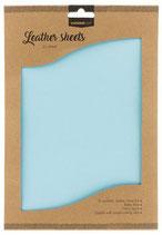 Studio Light kunstlederen vellen nr.08 - baby blue FLSSL08 2xA4 (03-20)
