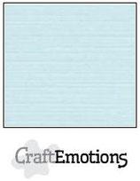 CraftEmotions linnenkarton 10 vel babyblauw 27x13,5cm 250gr / LHC-35