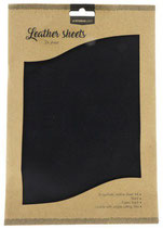 Studio Light kunstlederen vellen nr.04 - zwart FLSSL04 2xA4 (02-20)