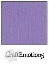 CraftEmotions linnenkarton 10 vel lavendel 27x13,5cm 250gr / LHC-20