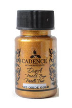 Cadence Dora Metallic Paint 123 oxide gold